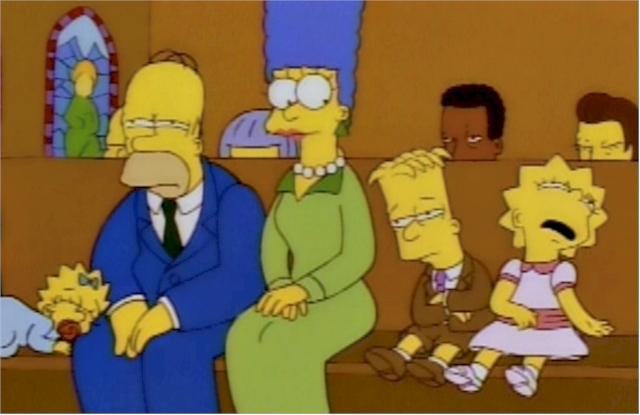 Episodio de 'Los Simpson' que refleja el aburrimiento